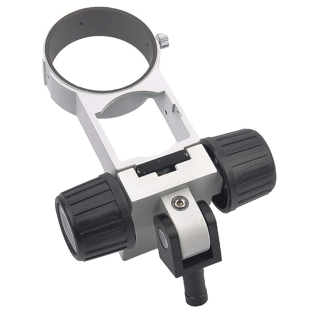 KOPPACE KP-A3 Metal Stereo Microscope Focus Bracket Adjustable Descending Frame Microscope Focus Rack Microscope Arms.