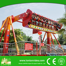 Thrilling Amusement Park Rides Space Travel Top Spin Rides Top Spin Amusement Rides for Sale