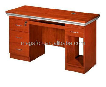 Executive Wooden Office Desk Ready Made Computer Table Fohk