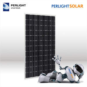 Perlight Energy PV Monocrystalline 340w 350w 360w 72cells Solar Module for Solar Panel System