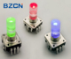12mm RGB LED illuminated rotary encoder