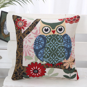 Custom Cartoon Owl Car Seat Cushion for Height