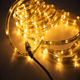 Flexible led strip light waterproof warm white color blue rainbow tube