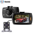 Car Camera Dual Lens G30 2 7 Full HD 1080P Video Recorder DVR With Backup Rearview