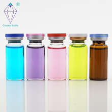 Wholesale glass bottle pharmaceutical tubular 12ml glass vial for steroids