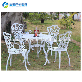 Cast Aluminum Table And Chair SetPicnic Table Chair Set Buy Table - Cast aluminum picnic table