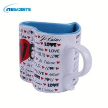 Coffee cup with heart shape WLoh0t funny coffee mug for sale