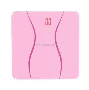 LED backlight Display weighing human personal health digital scale
