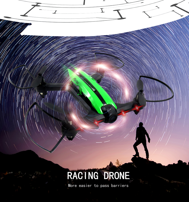 4. T18D_Green_Racing_Drone_with_Altitude_Hold_WIFI_FPV_RC_Drone