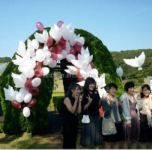 stocked bio dove balloon wedding decoration