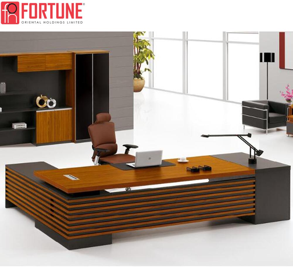 Modern Executive Desk Luxury Office Furniture High End Design (foh