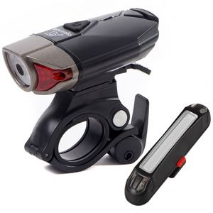 New Design Led Light Usb Bicycle Accessories Bike Light Set With Clamp