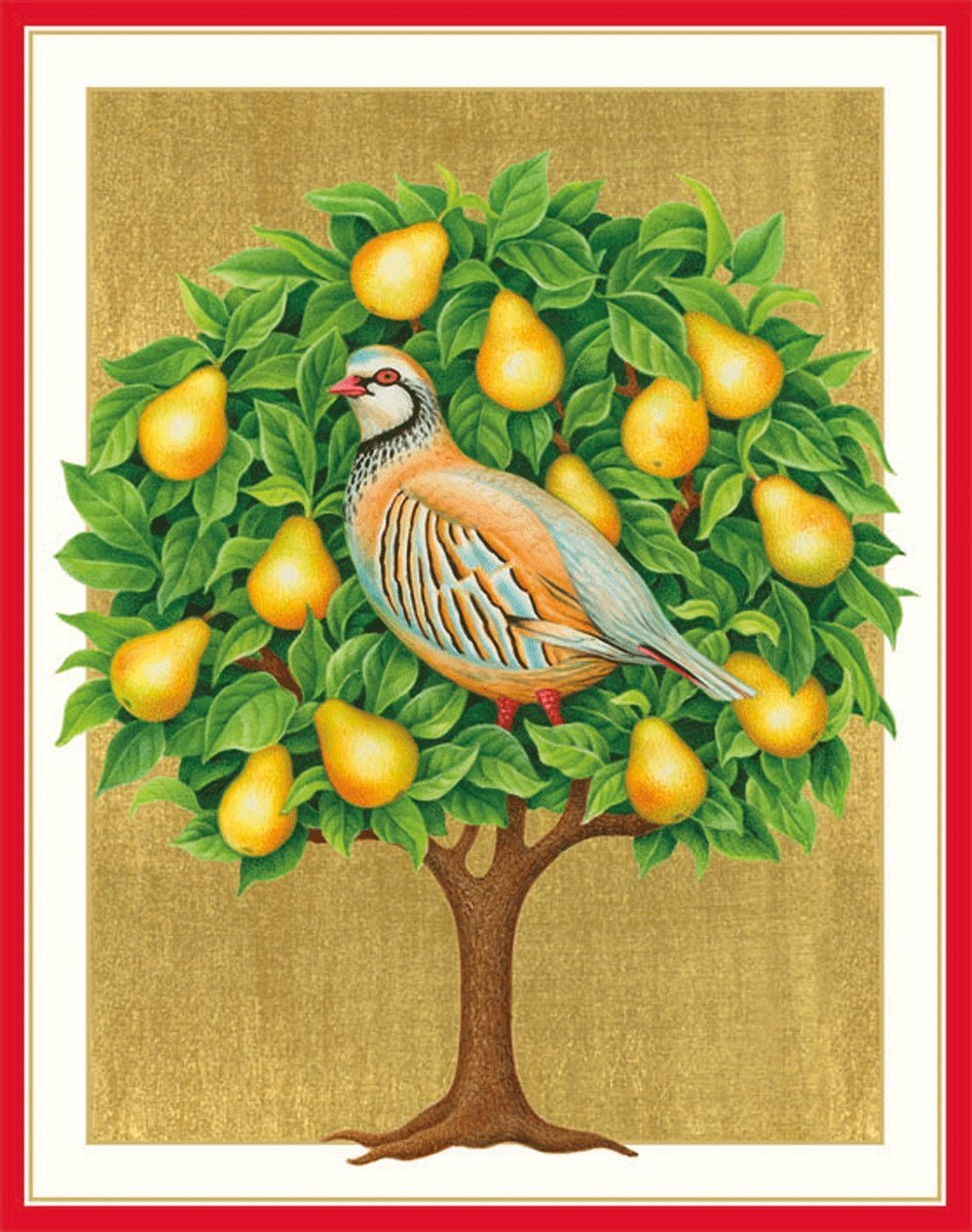 Cheap pear tree christmas find pear tree christmas deals on line at get quotations entertaining with caspari partridge in a pear tree christmas cards box of 16 kristyandbryce Gallery