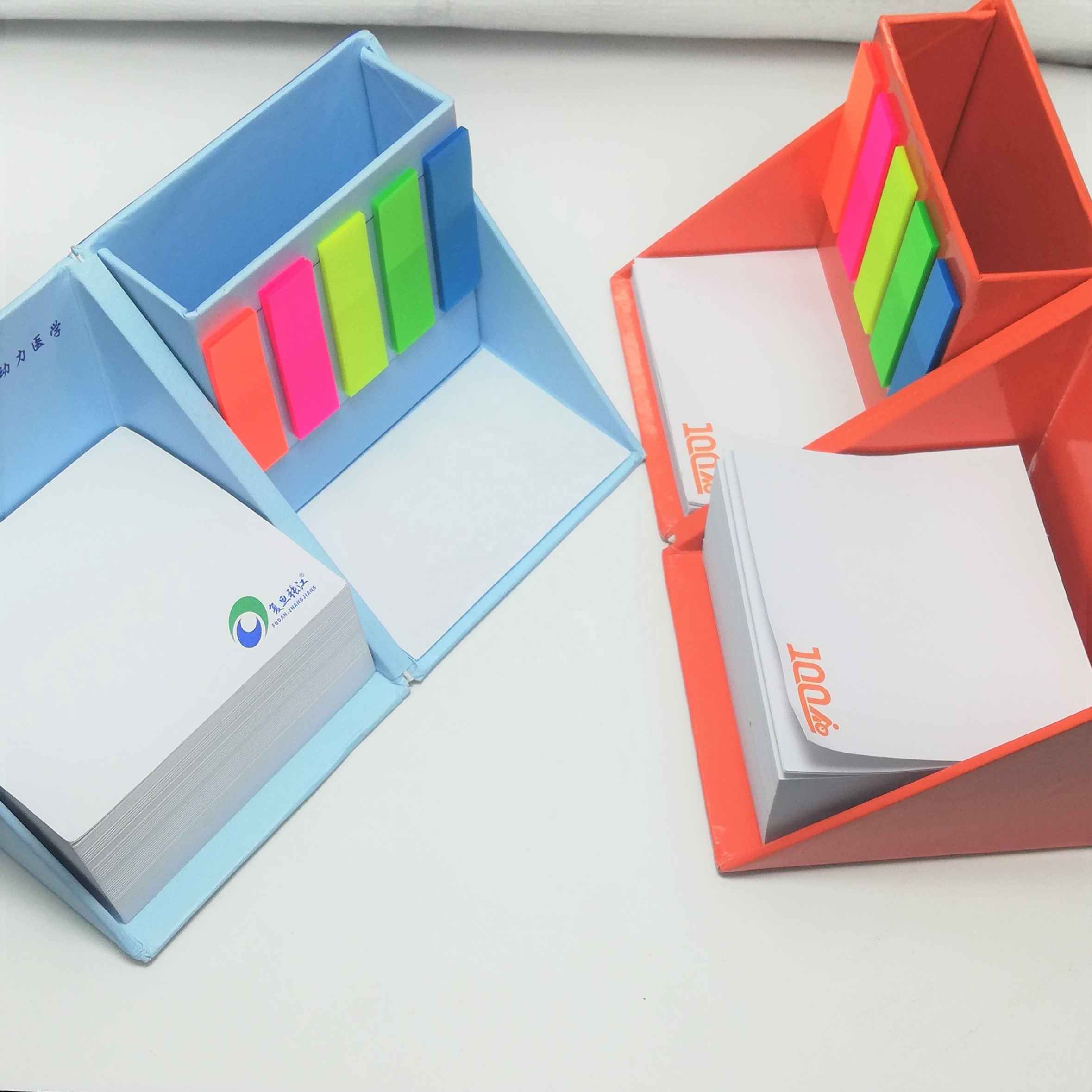 Magische kubus briefpapier sticky notes/promotionele gepersonaliseerde memo pad/