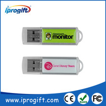 Customized thumb drives with free USB data preloading for ideal promotional gift