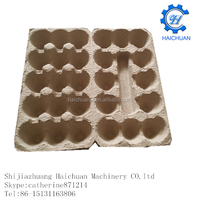 3*5 cells recycled paper egg carton