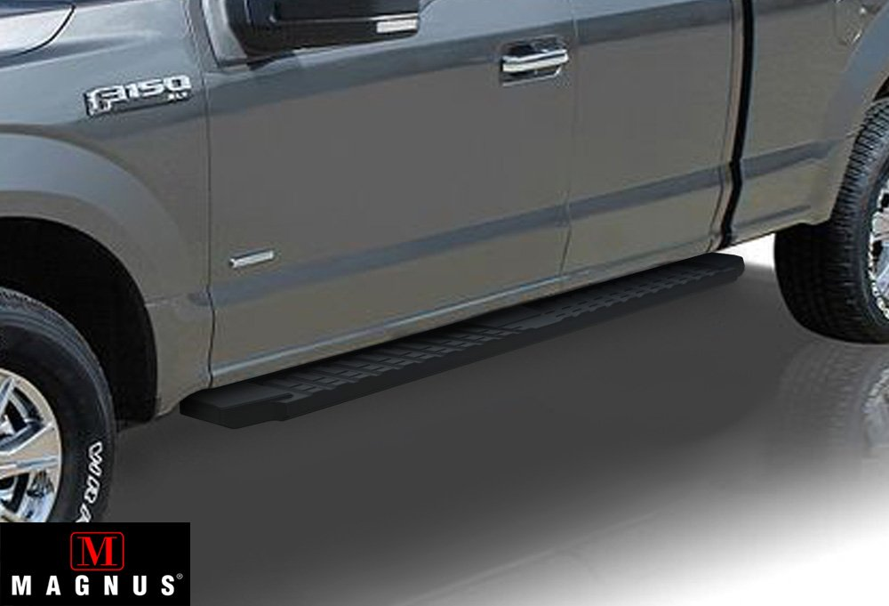 Aps Premium 6 Inches Molded Running Boards Black Fit 2017 2018 Ford