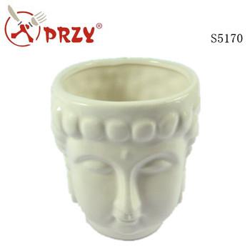 Buddha Crafts Silicone Vase Concrete Planter Mold Creative Silicone
