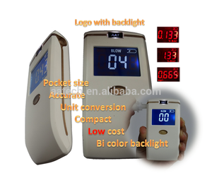 Hot selling machine mouthpiece breath alcohol tester With Promotional Price