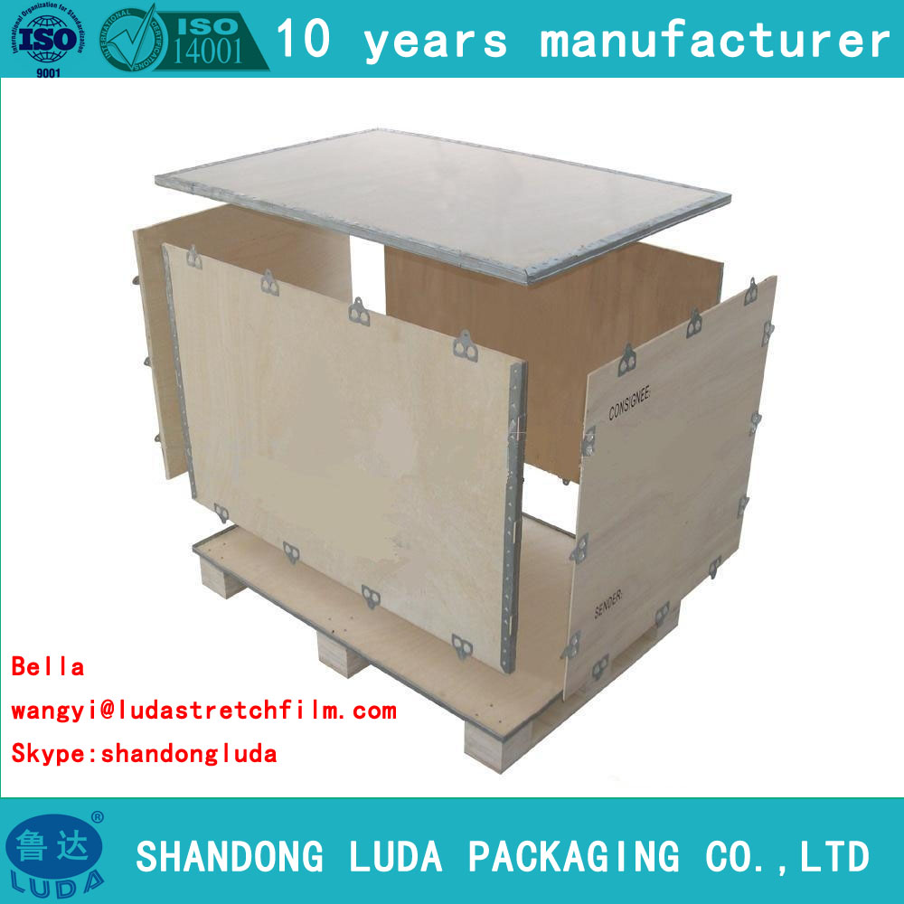 luda nailless collapsible plywood box clients demand