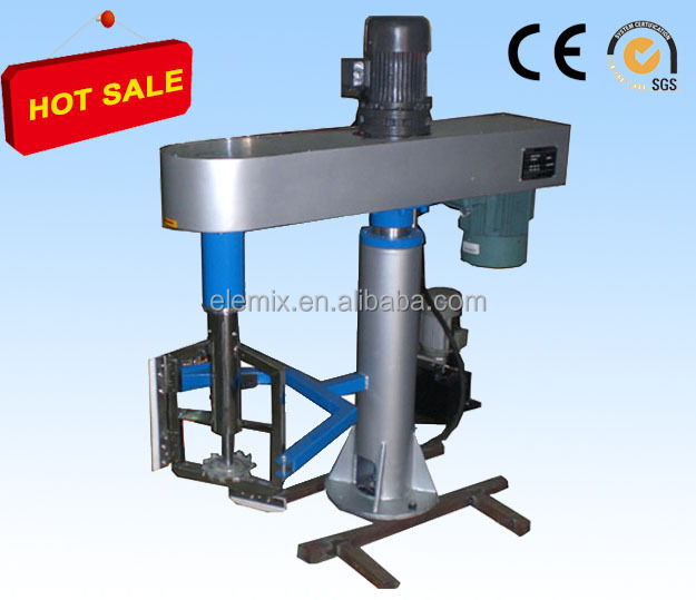Disperser for Polyester resin industry Twin Shaft compound concentric for high viscosity pigment
