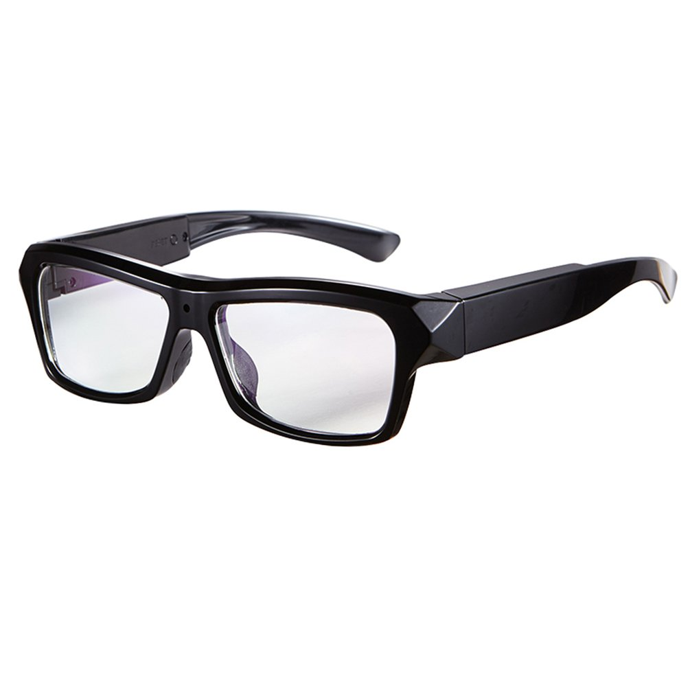 db36a39a85 Get Quotations · DATONTEN Glasses with Camera HD 1080P Video Recording  Glasses with 8GB SD Card