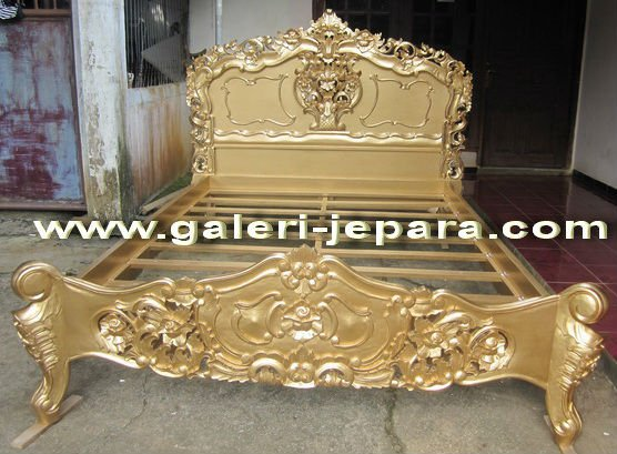 Rococo Wooden Furniture Gold Color - Antique Reproduction Rococo ...