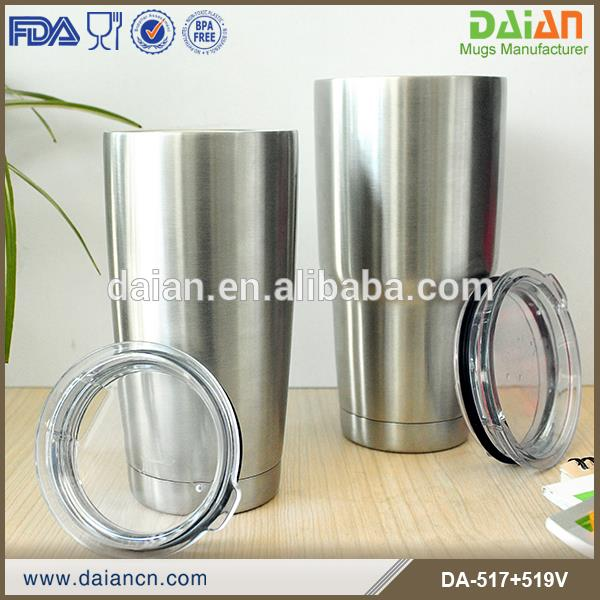 Double Walled Vacuum Insulated Travel Mug Set for Home & Outdoor Use Stainless Steel Tumbler
