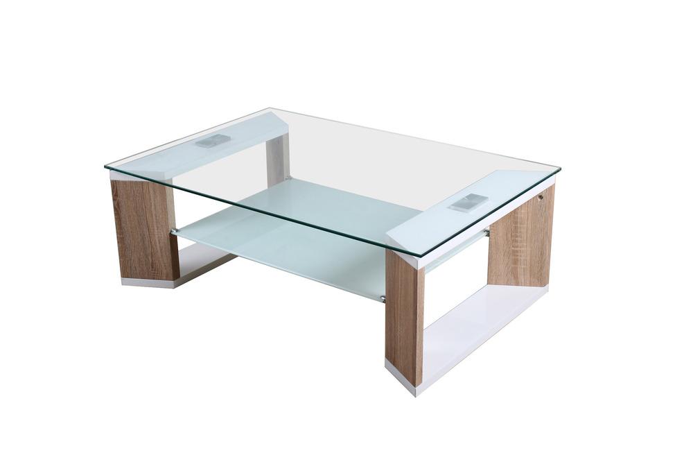 Goedkope mdf hout en moderne glazen salontafel buy salontafel