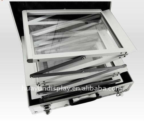 Beste Prijs Pure Transparante Outdoor A4 Clear Plastic Tijdschrift Houder