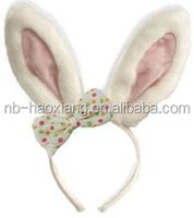 2017 Easter headband rabit head decoration for kids
