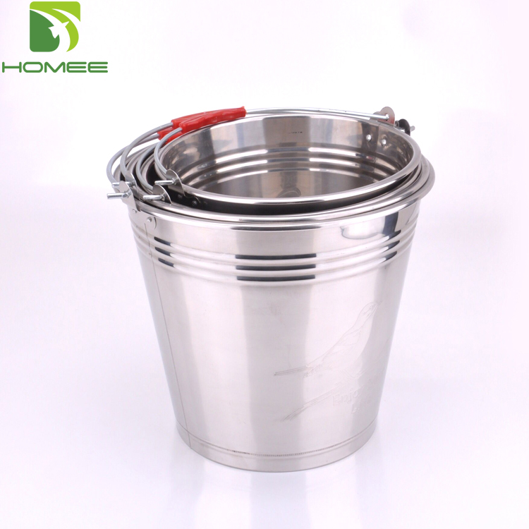 Nigeria hot selling 16L stainless steel bucket