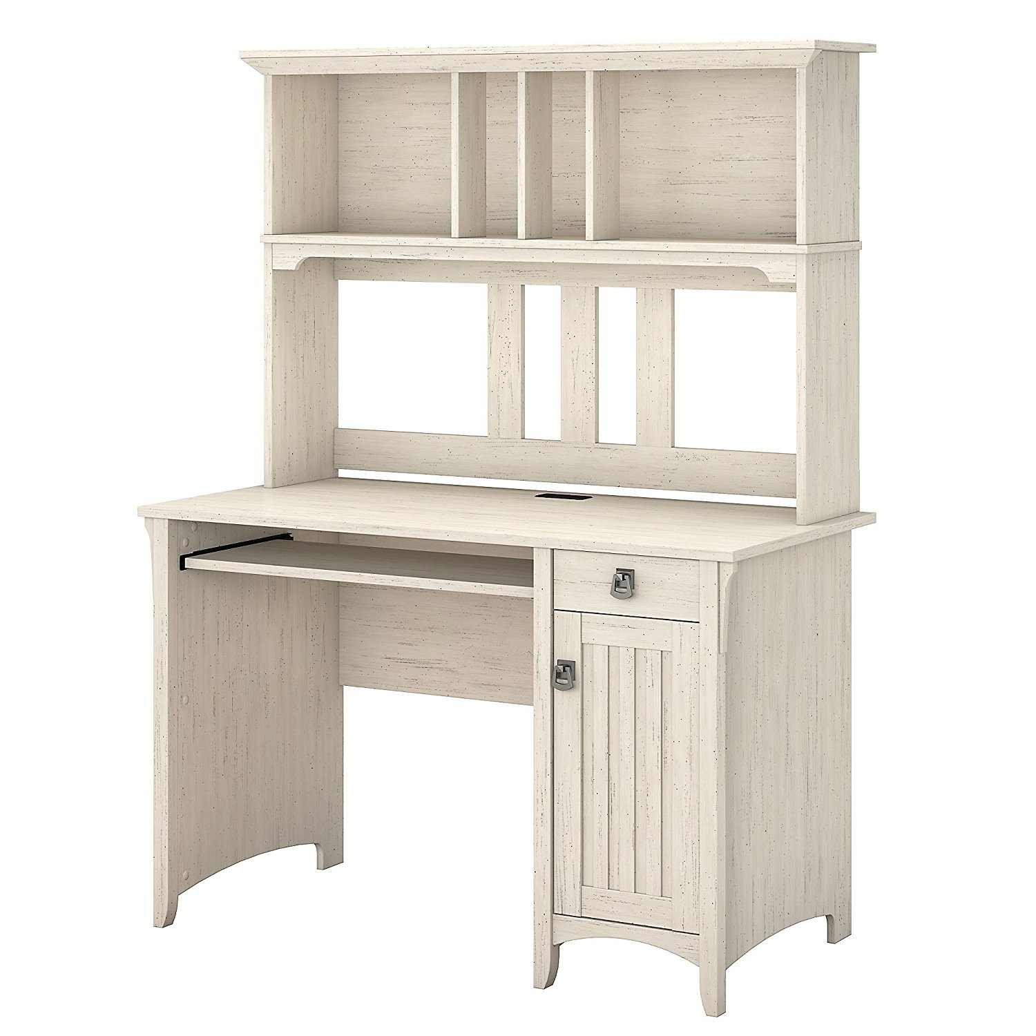 Get Quotations · Computer Office Desk with Hutch, Open Storage Space,  Keyboard Tray, Cable Management, - Cheap Antique Desk Hutch, Find Antique Desk Hutch Deals On Line At