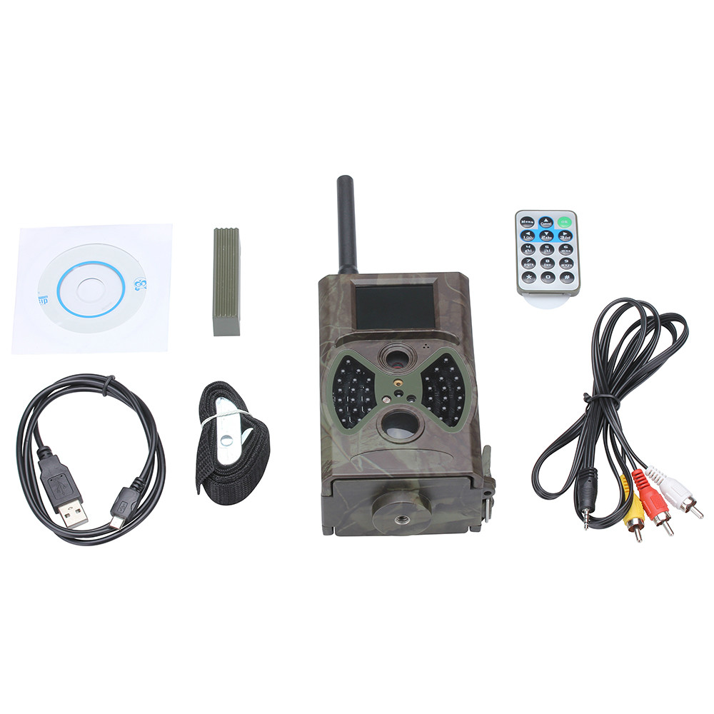 Wholesale Suntek MMS 12MP 1080P Hunting camera HC300M MMS/GSM/GPRS/E-mail SMS Command Night Vision Hunting Camera HC300M