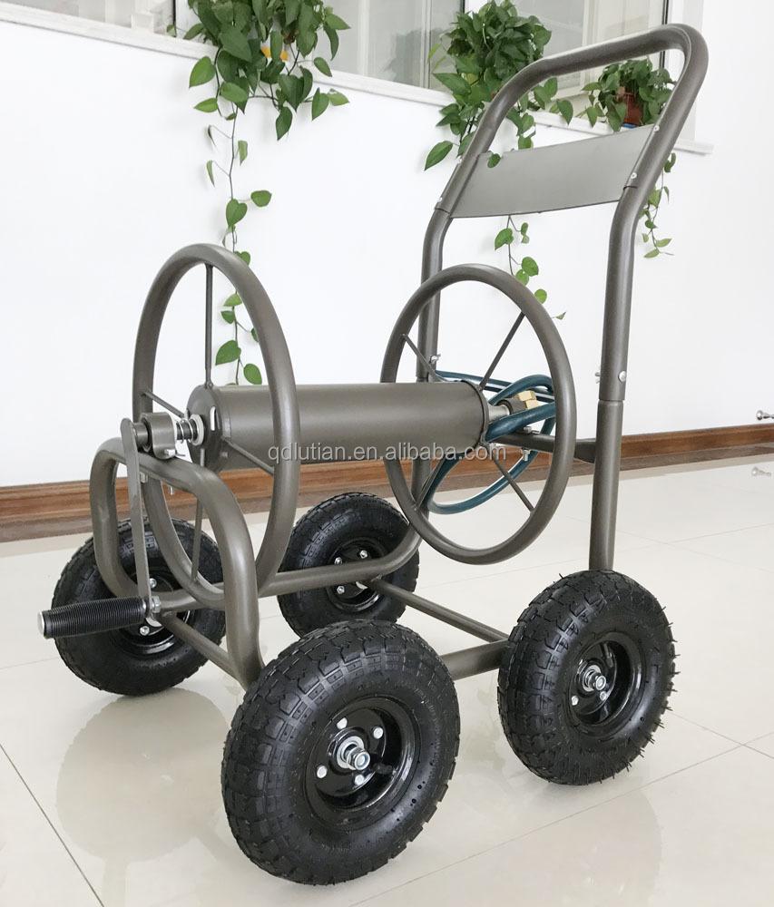 metal four wheel garden hose reel cart metal four wheel garden hose reel cart suppliers and at alibabacom