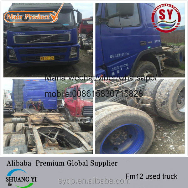 Used vo lvo FM9 FM12 FH12 truck good condtion