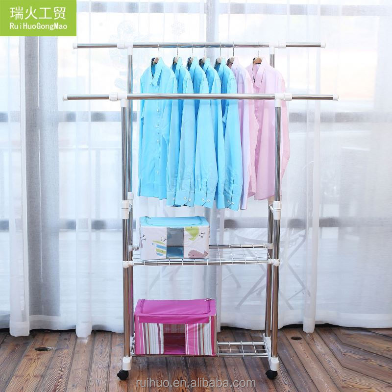 Top grade professional services fancy display dry garments multifunctional clothes hanger