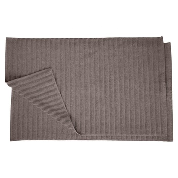 Premium Combed Cotton Bathroom Mat Set