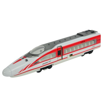 Zhorya die cast train racing high speed train toy with light