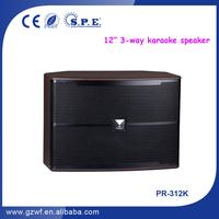 SPE Audio 3 Way 12 inch Karaoke Pro Sound Speakers PR-312K