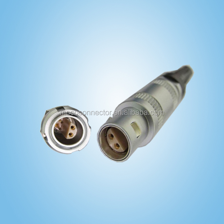 Metal Push Pull 2 Pin Connector Compatible