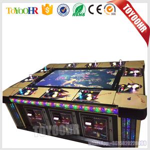 Hot Sale More Cabinet Arcade Shooting Fish Table Gambling Hunter Cheat  Fishing Game Machine