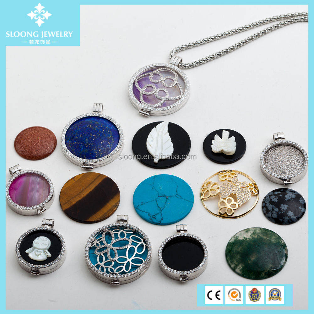 necklaces lockets copper pendant hollow aromatherapy perfume from essential charms in bronze item oil chain necklace fragrance round locket pads diffuser