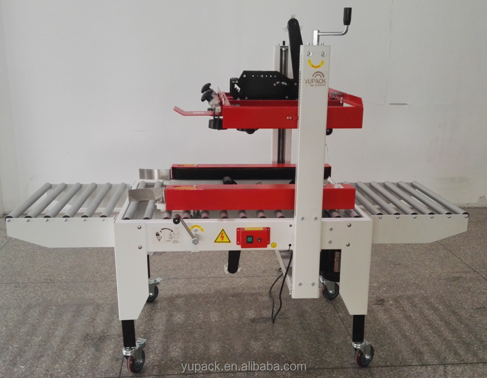 New condition semi automatic carton sealing machine(both belt drive)