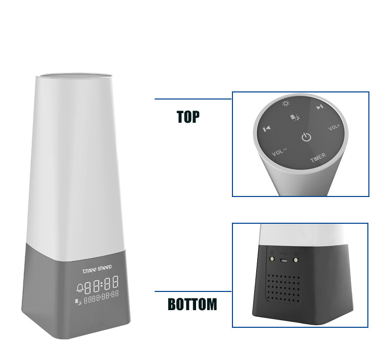 Constant White Noise Players Sound Absorption Machine With Nightlight