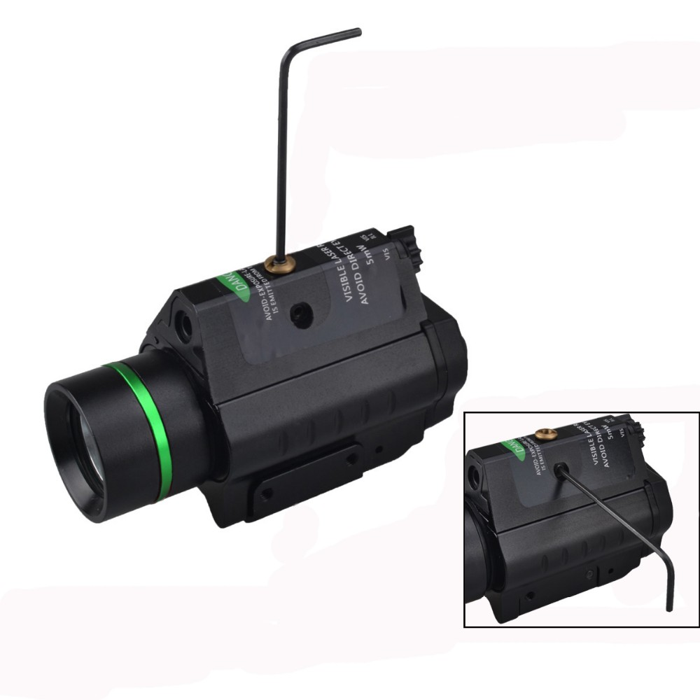 2016 hot sale green laser pointer led tactical flashlights hunting for rifle