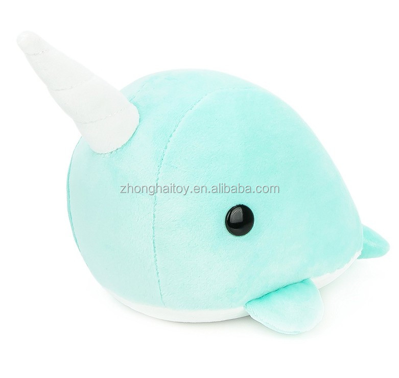 Custom Made Cute Narwhal Stuffed Animal Plush Toy Buy Narwhal
