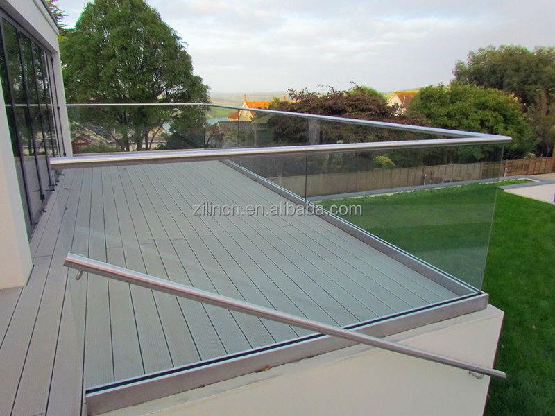 U Canal V Randa Garde Corps En Aluminium Pas Cher Decking Balustrades Pour Terrasses Rampes
