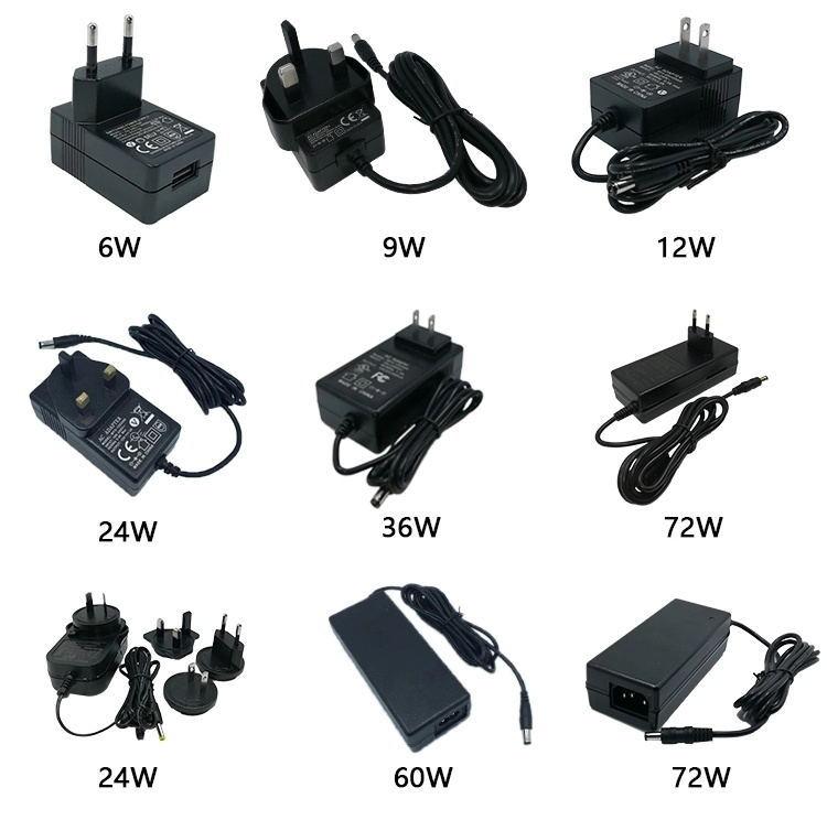 25 V 1A Adaptor AC 1.5A Universal 500ma Switching 36 V 12 V Sumber Daya Listrik