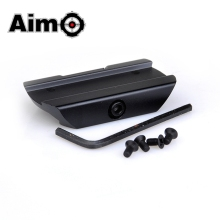 Aim-O Airsoft Low Mount Voor T1/T2 Zwart/Dark Earth <span class=keywords><strong>Aluminium</strong></span> TR02 Red Dot Tactical <span class=keywords><strong>Scope</strong></span> mounts Jacht Accessoire AO1708